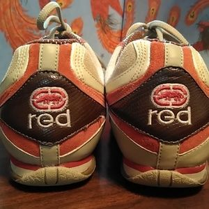 Size 9 Red Sneakers by Marc Ecko